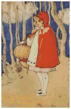 Little Red Riding Hood - Cross Stitch Chart/Pattern/Design/XStitch