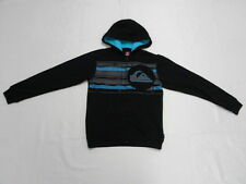 Quiksilver Boys Medium Shaka Laka Black Sweater Hood