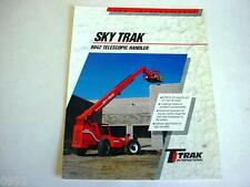 Sky Trak 8042 Telescopic Handler Forklift, 1995, 2 Pages, Brochure #
