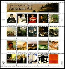 1998 - AMERICAN ART - #3236 Full Mint -MNH- Sheet of 20 Postage Stamps