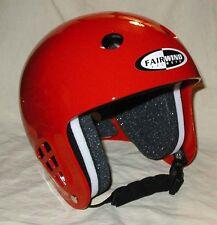 XL Red Fairwind (Standard Liner) Skydiving Helmet