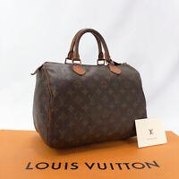 LOUIS VUITTON Handbag M41526 Speedy 30 Monogram canvas Women