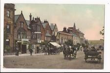 More details for 1908 fore street chard somerset horses and carts shops people colour ppc jws