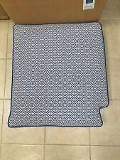 Frontgate Outdoor Kensington LEFT Arm Chair Bottom Cushion Michelle Cobalt Blue