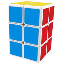 QIYI MFG White Funtional 2x2x3 Magic Cube Twist Puzzle MoFangGe Brain TeasersToy