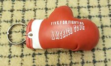 Five For Fighting Promo Boxing Glove Keychain America Town Superman Ondrasik