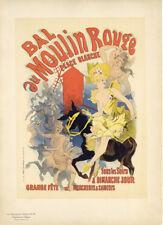 """Original 1897 Maîtres de L'Affiche PL. 53 """"BAL du Moulin Rouge"""" Jules Chéret"""