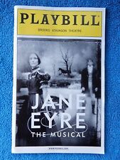 Jane Eyre - Brooks Atkinson Theatre Playbill - May 2001 - Marla Schaffel