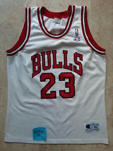 Michael Jordan Champion XL NBA jersey Retro Vintage 90 Chicago Bulls basketball