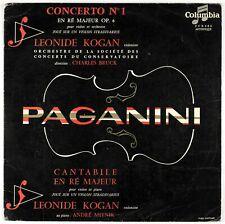 FCX 402 - Leonide Kogan (Stradivari violin) - Paganini - France LP