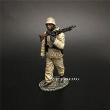 WAR PARK MINIATURES 1:30 WW2 GERMAN KH076 PANZERGRENADIER MARCHING WITH MG42