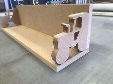 Tractor Shelf For Kids Bedroom Mdf Unpainted