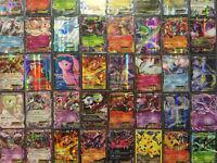 50 Pokemon Cards - GUARANTEED EX, GX Or Mega + 4 Rares/Rev/Holos - Best On Ebay!