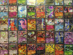50 Pokemon Cards - GUARANTEED EX, GX Or V +5 Rares/Rev/Holos - Best On Ebay!