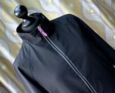 NEW BALANCE Womens Activewear Jacket Lightweight Running Black Pink Sz. M.