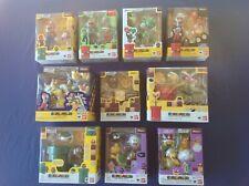 Bandai Tamashii Nations S.H. Figuarts Super Mario Complete Set, US Seller, Used