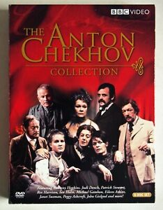 THE ANTON CHEKHOV COLLECTION / 6 DVD SET / BBC PRODUCTIONS 1959 - 1991 / R1