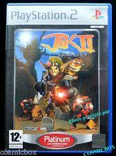 JAK II Hors la Loi platinum jeu video pour console SONY PlayStation 2 PS2 testé
