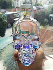 More details for crystal head aurora bottle skull vodka 700ml halloween decoration costume