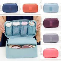 NEW Travel Storage Bag Bra Underwear Bag Organizer Box Toiletry Cosmetic Case
