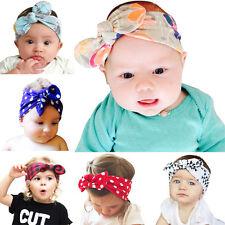 6PCS/lot Cute Girl Baby Hairband kids Headwear Rabbit Ear Headband Headwear
