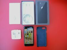 APPLE iPhone 7 Black 32 GB Model A1778 Kit coque cuir glass gorillaz très Bon