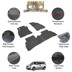Premium 4,5D Car Floor Mat for Opel Combo Tour D 2011 - 2018