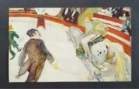"Toulouse-Lautrec ""Cirque Fernando: The Equestrienne "" Offset Color Litho 1952"