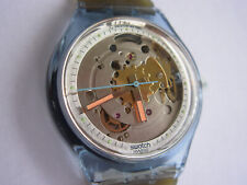 SWATCH AUTOMATIC BLUE MATIC - SAN100 - 1991 - NEW NUOVO