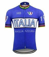 Italia Short Sleeve Cycling Jersey Free Shipping