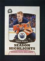 2018-19 18-19 Upper Deck UD O-Pee-Chee OPC Retro #554 Connor McDavid
