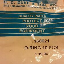 Electro Freeze Part # 160621 O-Ring Qty 10