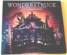 [WONDERSTRUCK SOUNDTRACK SIGNED BY CARTER BURWELL CD