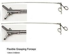 urology Brand New Flexible Grasping Forceps size- 1.9 mm x 400 mm 2 two piece