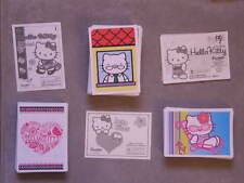 20 PANINI AU CHOIX HELLO KITTY B COOL(156)/FASHION(133)/I LOVE LIFE(59)