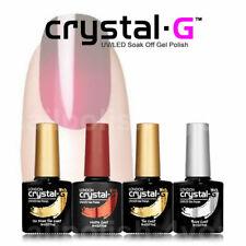 Crystal-G Quality TOP , BASE & MATTE COAT Soak Off Gel Nail Polish manicures 8ml