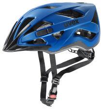 Uvex Fahrrad Helm active cc - blue mat 56-60