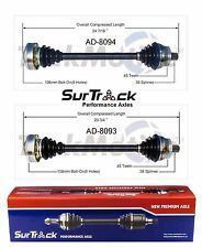 For Audi A4 FWD Quattro AWD 2002-2004 Set of 2 Front CV Axle Shafts SurTrack