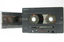 2x Sony ES IV Metal 46 - Cassette Tapes Vintage Prerecorded Sold As Blank Japan