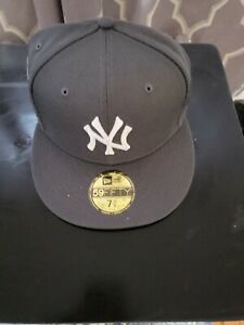 4uCaps Grey 2000 Subway Series New York Yankees Fitted 7 3/8