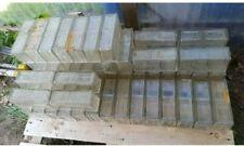 DDR 49x Glasziegel, 31x okay, 18x fehlerhaft / gebraucht