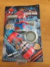 Marvel Ultimate Spiderman Dip N Blow Bubble w/ Spiderman Bubble Wand & Bubbles S