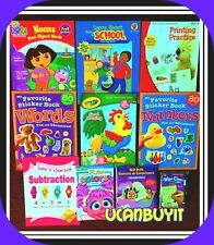 Huge Lot PreK Assorted PRESCHOOL Children's Homeschool Pre-K Workbooks Ages 3+