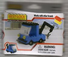 best lock construction toys  Blue Tow Truck 2011 New in Box