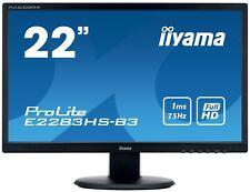 21.5in LED 1920x1080 16 9 1ms Iiyama E2283hs-b3