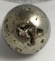 Gorgeous pyrite sphere, Peru 473.6 grams!!!  AAA fools gold!!!