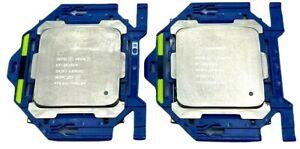 LOT OF 2 SR2PJ Intel Xeon CPU's E5-2623v4 10M Cache 2.60GHz Quad Core - WARRANTY
