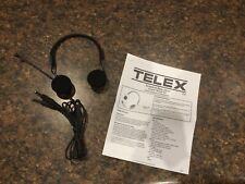 Telex Airman 750 Pilot Headset New Dual Plug