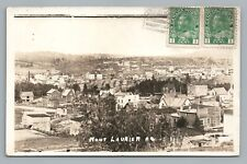 Mont Laurier RPPC Quebec—Rare Antique CPA Photo Postcard AZO 1920