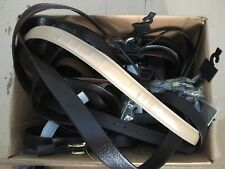 LOT OF 17 BELTS VARIOUS SIZES AND STYLES